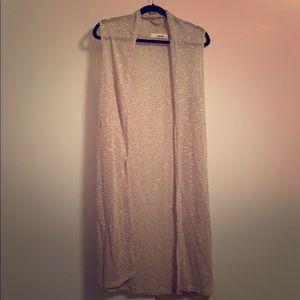 Sans Souci Knit Vest Cardigan